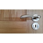 Fortessa Maya Lever on Rose Door Handle