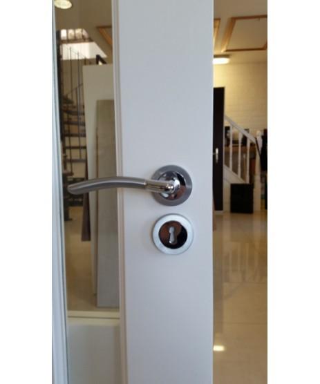 Fortessa Amalfi Satin Polished Chrome Door Handle