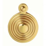 Carlisle Brass Reeded Covered Escutcheon