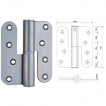 Lift-Off Hinges (Ballbearing) Hin 1433 Zinc Plated