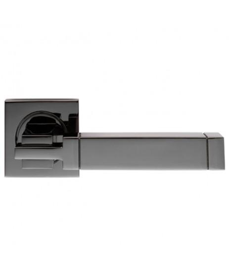 Serozzetta SZM320BN Black Nickel Door Handle with Escutcheon's