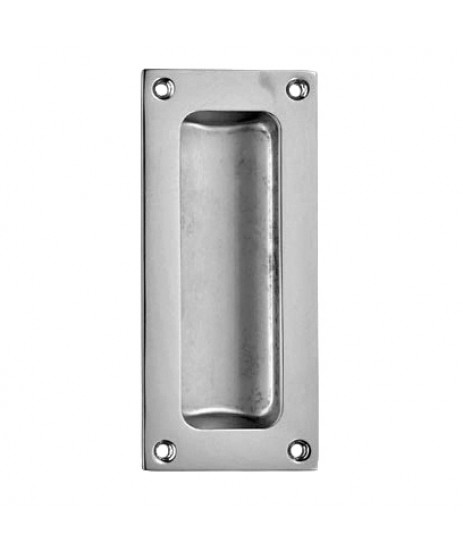 Carlisle Brass AQ90 Polished Chrome Recess Flush Pull Handle