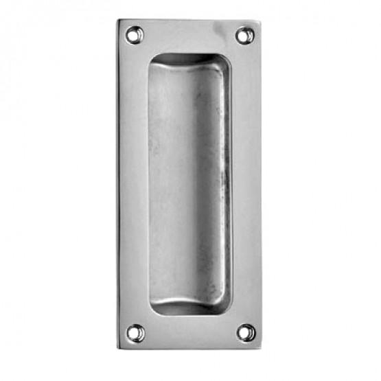 Carlisle Brass AQ90 Polished Chrome Recess Flush Pull Handle