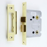 "Bathroom Mortice Lock 3"" Lock"