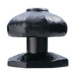 Ludlow Black Centre Door Knob LF5550