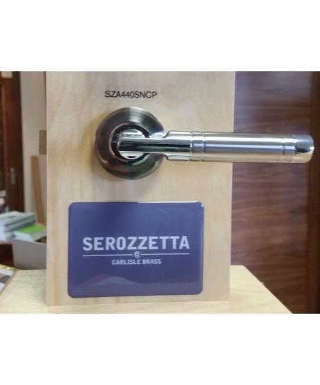 Carlisle Brass Serozzetta SZA440SNCP Satin Nickel Chrome Plated Handle