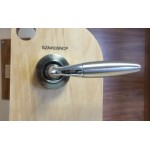 Carlisle Brass Serozzetta SZA450SNCP Satin Nickel Chrome Plated Handle (Set)