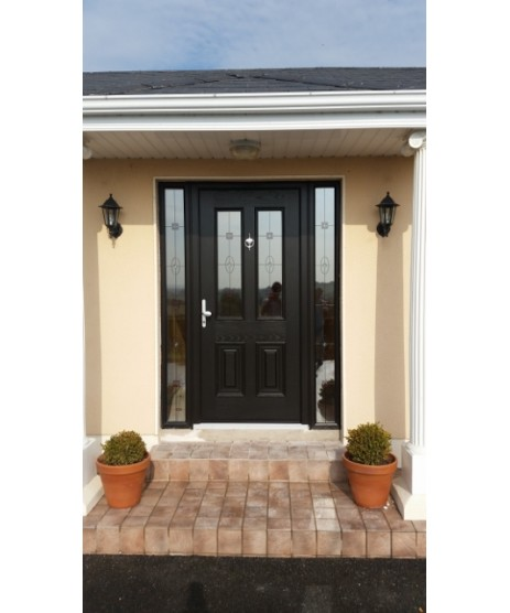 Palladio Palermo CD Solid Door and frame