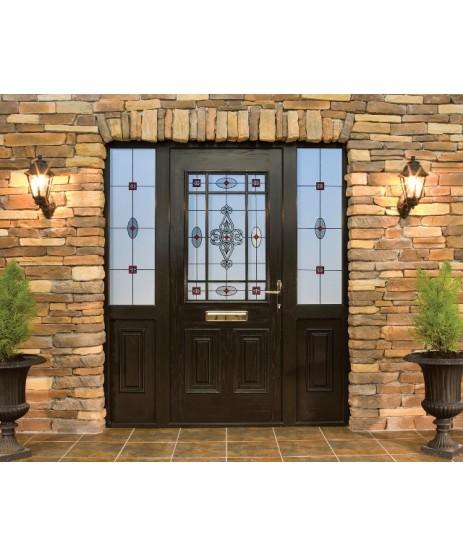 Palladio Cairo Glazed Door and frame Set