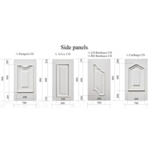 Palladio Naples CD Glazed Back Door and Frame