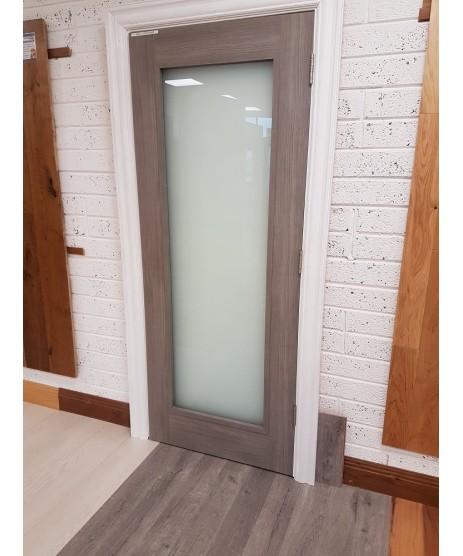 Doras Daiken Grey 1 Lite (Frosted) Door