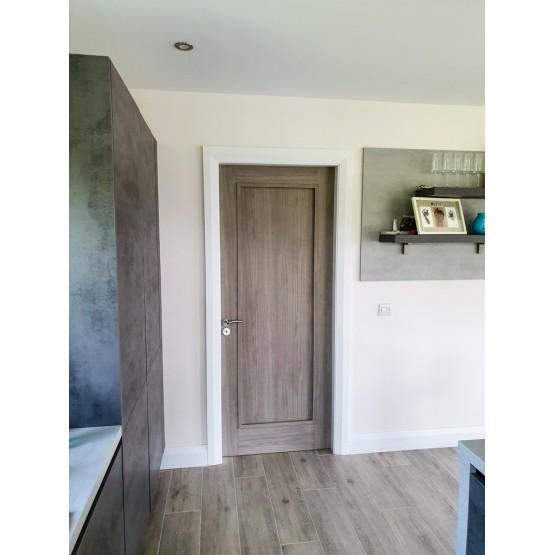 Doras Daiken Grey 1 Panel Door