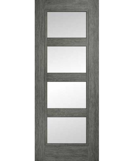 Doras Daiken Grey 4 Lite Clear Door