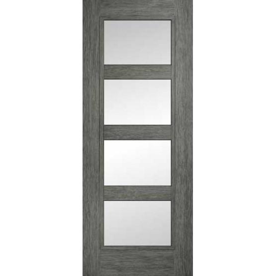 Doras Daiken Grey 4 Lite (Frosted) Door
