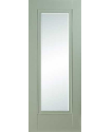 Doras Prague Silk Grey 1Lite Clear Glass