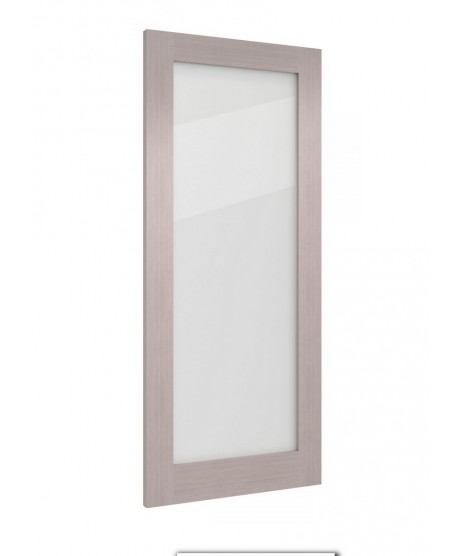 Deanta NM6G Light Grey Ash Frosted Door