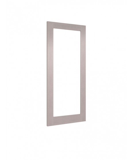 Deanta NM6G Light Grey Ash Clear Door