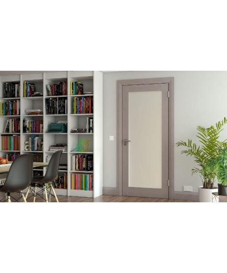 Deanta NM5 Light Grey Ash Shaker Door