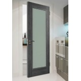 Doras Daiken Grey 1 Lite (Frosted) Door