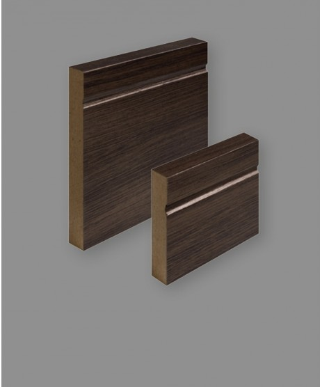 Daiken Walnut Shaker Architrave Pack 95x18mm