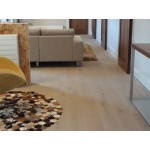 HARO Parquet 4000 Plank 1-Strip Oak Sand Brown Limewashed 4V brushed