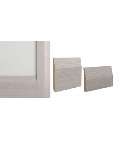 Deanta Light Grey Ash Half Splayed Architrave set