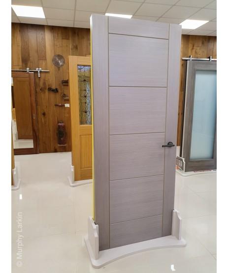 Deanta HP12G Light Grey Ash Frosted Door