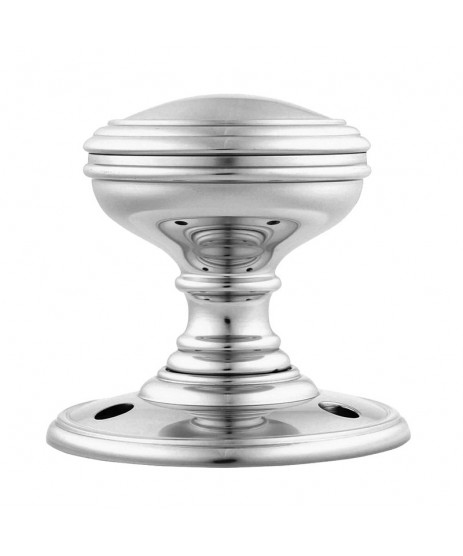 DELAMAIN PLAIN MORTICE KNOB DK35CP POLISHED CHROME