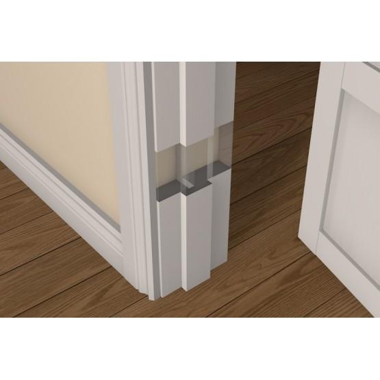 Pre-Primed Wood Adjustable Rebated Door Frame