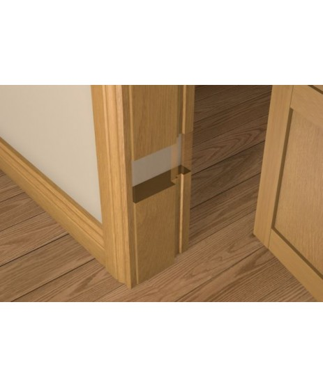 Solid Oak FD30 Rebated Door Frame Set