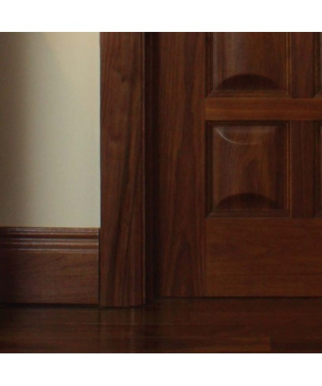 Walnut Adjustable Frame & Architrave Set (Engineered)