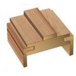 Oak Adjustable Door Frame (Engineered) & Architrave Set