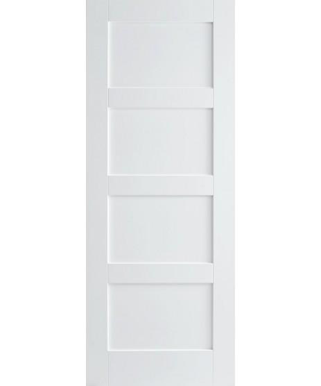 Doras Shaker 4 Panel Primed Door