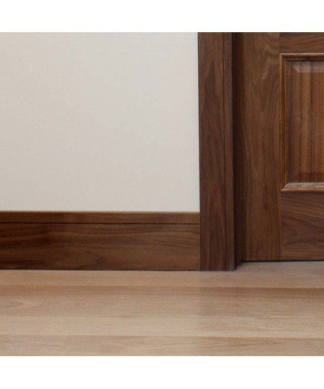 Walnut Adjustable Frame & Architrave Set (Engineered)