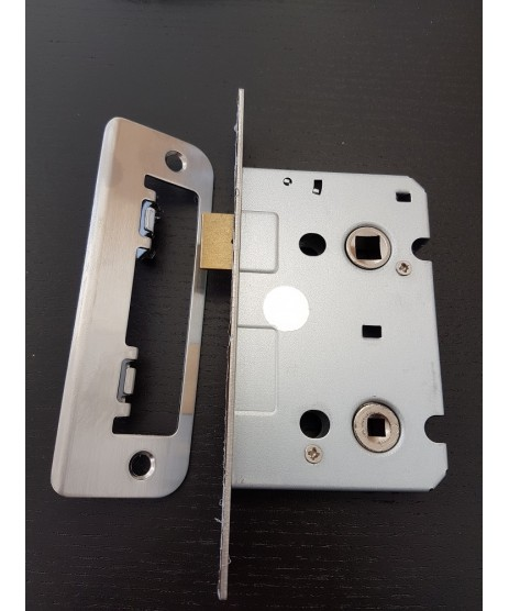 Zoo Hardware 3 Lever Bathroom Lock 3""