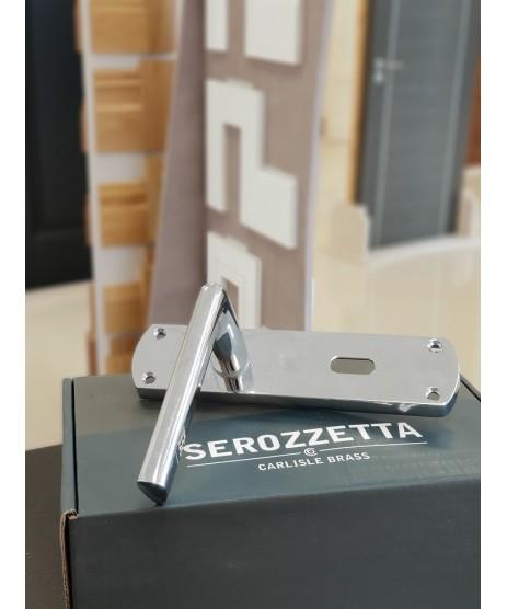 Serozzetta Uno Lever on Backplate 170x42mm