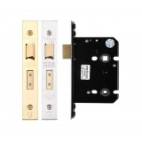 Zoo Hardware 2 Lever Bathroom Lock 2.5""