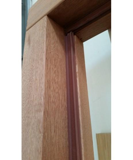"External Mahogany Door Frame 4""x3""(incl weather strips)"