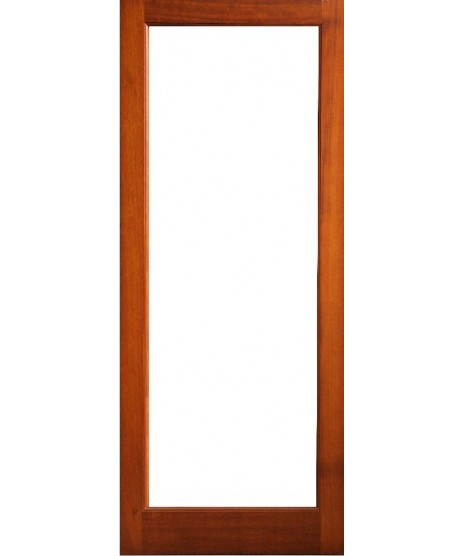 External Door Mahogany Timber Shaker Glazed (005) The Malin