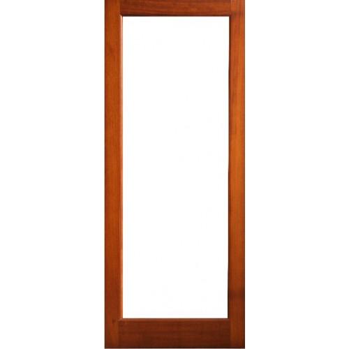 External Door Mahogany Timber Shaker Glazed 005 The Malin