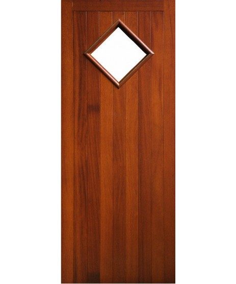 External Door Mahogany solid Timber (008)(Liffey)