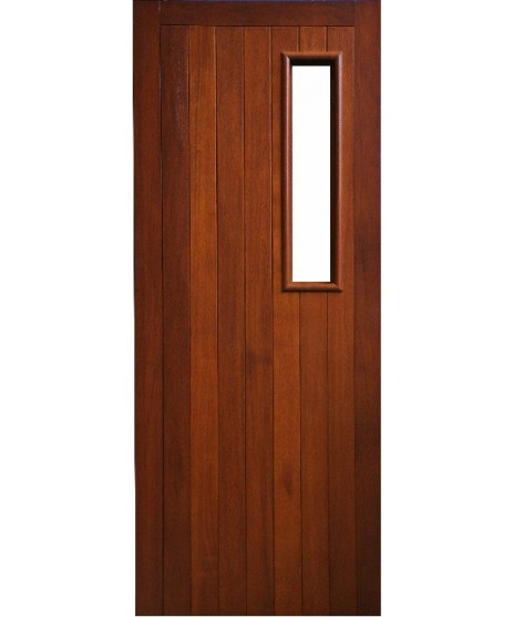 External Door Mahogany Timber  Solid  Door(0010) The Aherlow