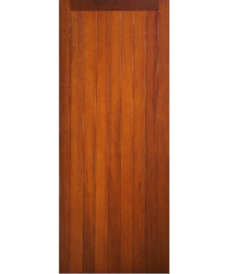 External Door Mahogany Timber Door Sheeted (0014) The Aran