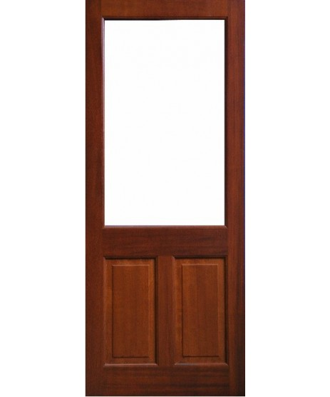 External Door Mahogany Timber Glass Door (0017) The Achill