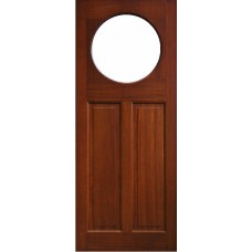 External Door Mahogany Timber  Solid  Door(0018) (Boyne)