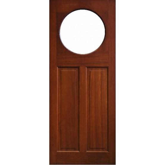 External Door Mahogany Timber  Solid  Door(0018) (Boyne)