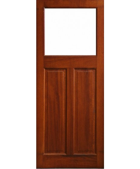 External Door Mahogany Timber Glass Door (0019) The Causeway