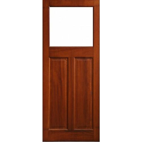External Door Mahogany Timber Glass Door 0019 The Causeway