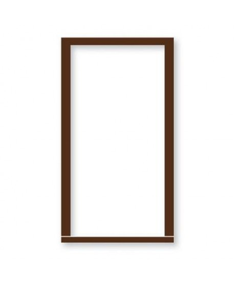 "External Mahogany Door Frame 4""x3""(incl weather strips)"