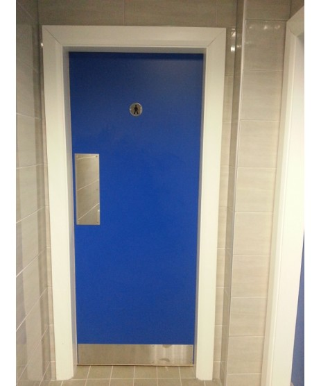 Formica Finish Fire Door Prehung Door Set